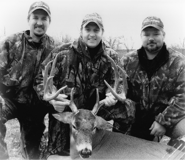 Hunters with Trophy Deer